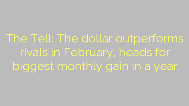 The Tell: The dollar outperforms rivals in February, heads for biggest monthly gain in a year