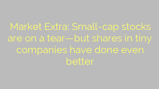 Market Extra: Small-cap stocks are on a tear—but shares in tiny companies have done even better