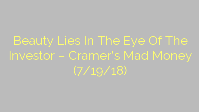 Beauty Lies In The Eye Of The Investor – Cramer's Mad Money (7/19/18)