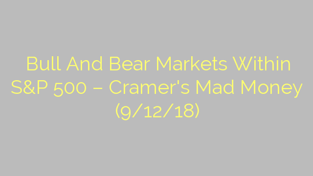 Bull And Bear Markets Within S&P 500 – Cramer's Mad Money (9/12/18)