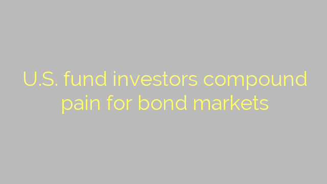 U.S. fund investors compound pain for bond markets