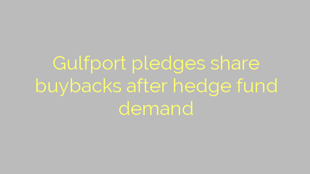 Gulfport pledges share buybacks after hedge fund demand