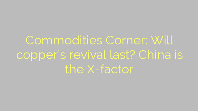 Commodities Corner: Will copper's revival last? China is the X-factor