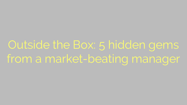 Outside the Box: 5 hidden gems from a market-beating manager